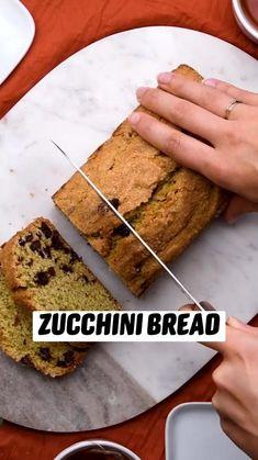 Healthy Desserts, Easy Desserts, Fun Baking Recipes, Cooking Recipes, Appetizer Recipes, Dessert Recipes, Zucchini Bread Recipes, Dessert Bread, Love Food