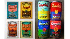 アンディ・ウォーホルのあのキャンベル・スープ缶がそのまま本物の缶になって発売! : ギズモード・ジャパン