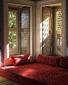 Corner of A room at The Topkapi Palace