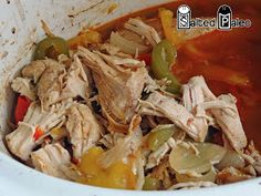 Crock-Pot Fajitas. Or could just do chicken/steak, peppers, onions and tomatoes in a skillet.