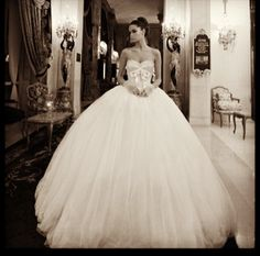 I will one day have a huge wedding dress, and no one can stop me lol