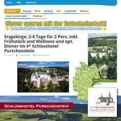 *Tolle Reiseangebote, Das Vier-Sterne-Schlosshotel Purschenstein an der Alten Salzstraße* http://gutscheinstadt.de/erzgebirge-2-4-tage-fuer-2-pers-inkl-fruehstueck-und-wellness-und-opt-dinner-im-4-schlosshotel-purschenstein/   Erzgebirge: 2-4 Tage für 2 Pers. inkl. Frühstück und Wellness und opt. Dinner im 4* Schlosshotel Purschenstein, Das Vier-Sterne-Schlosshotel Purschenstein an der Alten Salzstraße liegt auf einem Landsitz, dessen Ursprünge in das 12. Jahrhundert zurückgehen.