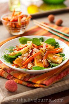 Завтра будет новый день... - Тофу в апельсиновом соусе с пряной морковью