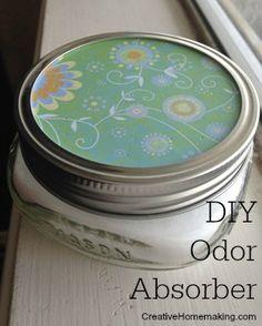 DIY odor absorber