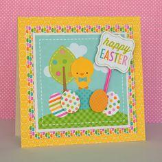 Doodlebug Designs: Bunnyville Collection Easter Card by Christine Meyer