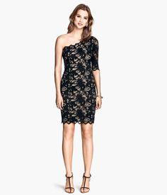H&M One-Shoulder-Kleid 14,99