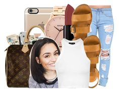 """""""I'm gone give you something you can hold down"""" by ayeeitsdessa ❤ liked on Polyvore featuring Casetify, Nixon, Smashbox, Topshop, women's clothing, women, female, woman, misses and juniors"""