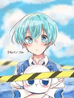 Blonde Anime Girl, Anime Wolf Girl, Anime Art Girl, Hatsune Miku, My Little Pony Unicorn, Anime Guys Shirtless, Blue Anime, Cute Anime Guys, Anime Life