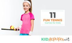 Searching for tennis games for kids? Look no further. Incorporate these 11 fun tennis games and drills into your child's tennis warm-ups. Sports Activities For Kids, Kids Sports, Games For Kids, Sports Basketball, Sports Logo, Tennis Games, Oufits Casual, Sport Craft, Sport Body