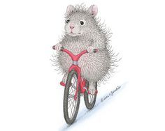 The Wee Poppets® is a line of hamster images created by artist Ellen Jareckie,… - Hamsters Baby Mouse, Cute Mouse, Hamsters, House Mouse Stamps, Mouse Pictures, Cartoon House, Sketch Painting, Cute Creatures, Whimsical Art