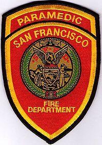 San Fransisco FD (California, USA) Paramedic patch