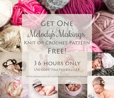 Get Any One Pattern….FREE!