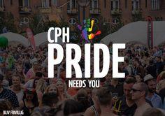 I en af vores modulopgaver lavede vi en kampagne for Copenhagen Pride, som skulle tiltrække flere frivillige.  Denne plakat var et af mine forslag til kampagnen.