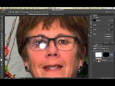 How to Remove Glare from Glasses in Photoshop - YouTube