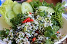 Larb, el plato típico de Laos - Caracol Viajero
