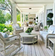 Heather Strommen (@sweetshadylane) • Instagram photos and videos Outdoor Living, Outdoor Decor, Backyard Patio, Front Porch, Diy Furniture, Reno Ideas, Photo And Video, Instagram, Videos