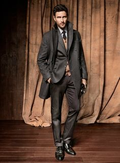 Suit menswear, men's fashion and style Fashion Mode, Suit Fashion, Look Fashion, Mens Fashion, Trendy Fashion, Layered Fashion, Fall Fashion, Mode Masculine, Sharp Dressed Man