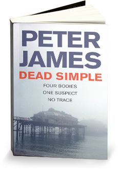 The first of a number of books by Peter James based on a fictional Brighton based Detective, Roy Grace  who is tasked with solving the case of 4 dead men on a stag party and a missing groom.... the start of my addiction to Peter James novels.  Read them, you won't be disappointed!