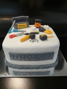 Tool Box Cake | This is the Tool Cake that I made for my hus… | Flickr