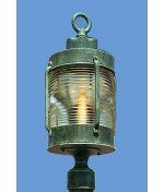 Hanover Lantern B9030BLKPD Avalon Large 1 Light Outdoor Post Lamp in Black with Clear Fresnel Lens glass - Cast Aluminum by Hanover Lantern. $415.80. Nautical Outdoor Post Lamp in Black with Clear Fresnel Lens glass from the Avalon Large Collection by Hanover Lantern. Dimensions: 21.50 H 9.25 W - Cast Aluminum - B9030BLKPD
