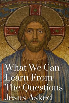 Jesus asked a lot of questions. Let's look at what they were and what we can learn. Deep Art, Inspirational Verses, Study Help, Bible Stories, Christian Living, Christianity, How To Become, Prayers, Author