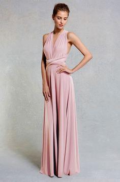 Coast Bridesmaid Corwin Maxi Dress Pink