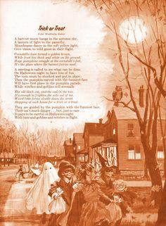 "Halloween Ideals 1966 ""Trick or Treat"""