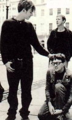 Damon Albarn, Graham Coxon, Dave Rowntree