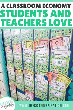 "Students thrive when they take ownership of their actions! Why not let them apply for classroom jobs and pay them a ""salary""! This management system has been a game changer in my classroom and students LOVE it! #classroommanagement #classjobs"