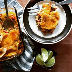 "Old-school casseroles can be transformed into nourishing dinners.  Our ""King Ranch"" chicken is loaded with poblano peppers bells & onions and sits between layers of local corn tortillas from #wintermoonfarm in Hadley MA.  Simple #texmex at its best!  #bostonfoodies #bostonfood #casserole #fooderyrises #nourishing #nongmo"