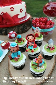 Little Red Riding Hood Themed Party