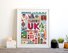Theres nowhere quite like my home the UK, and this sampler features all its best bits from England, Ireland, Scotland and Wales. Its the perfect…