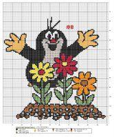 Disney Cross Stitch Patterns, Hama Beads Design, Beaded Cross Stitch, Cross Stitch Animals, Cartoon Tv, Brick Stitch, Plastic Canvas Patterns, Christmas Cross, Needlework