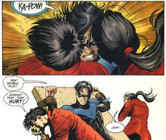 Dick Grayson will supply his own sound effects.