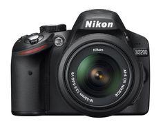 Nikon D3200 24.2MP Digital SLR Camera w/ 18-55mm VR Lens (Refurbished) $320 + Free Shipping