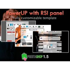 Editable template for #prestashop 1.5: Power up With RSI PANEL  http://catalogo-onlinersi.net/en/394-power-up-with-rsi-panel.html