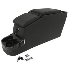 Jeep and Wrangler YJ Locking Center Console (Black Denim) Jeep Wrangler Yj, Jeep Cj6, Wrangler Accessories, Car Accessories, Tactical Seat Covers, Chrysler Voyager, Jeep Parts, Truck Interior, Chrysler Jeep