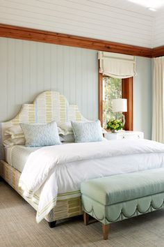 Lake House Bedroom Designed By Anne Hepfer