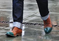 Street Snap || love the shoes but wearing them on wet pavement would give me anxiety.