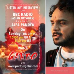 Listen my radio interview on BBC radio Asian Network at 2:30 in India and at 10:00 pm in UK.