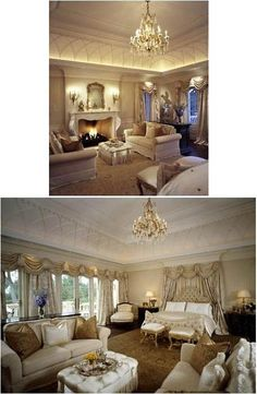 traditional . . .Now THIS is a master bedroom!