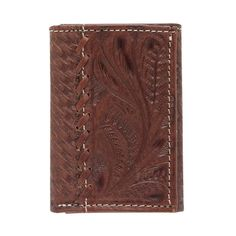 American West Men's Retro Romance Trifold Wallet  #wallet #accessories #mensgifts