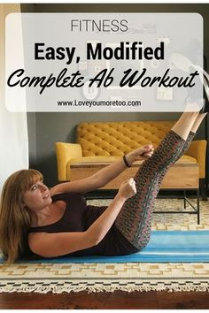 Modified Ab Workout