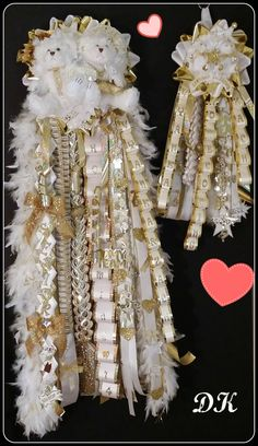 Sweethearts Homecoming Mum Package by DKFloralsInc on Etsy