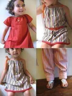 This is the greatest idea! Turn Dad's old shirt into my baby fashonista's new dress!
