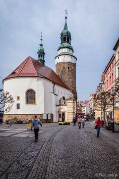 The Chapel of St. Anna and the Wojanowska Gate in Jelenia Gora (Mons Cervi, Hirschberg, Jelení Hora), Poland