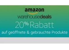 """Amazon: 20 Prozent Rabatt auf Warehouse-Deals bis kommenden Montag https://www.discountfan.de/artikel/technik_und_haushalt/amazon-20-prozent-rabatt-auf-warehouse-deals-bis-kommenden-montag.php Kaum ist die eine Warehouse-Deals-Rabattaktion ausgelaufen, startet schon die nächste: Ab sofort und nur bis zum 28. November 2016 gibt es einen Preisabschlag von 20 Prozent """"auf ausgewählte Produkte von Amazon Warehouse Deals"""". Mit dabei sind über 200.000 Artikel. Amaz"""
