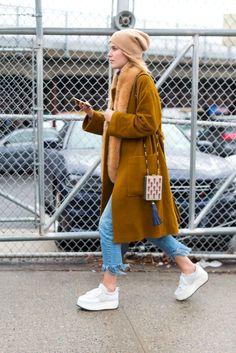 nice So Cool It Hurts: New York Fashion Week Street Style