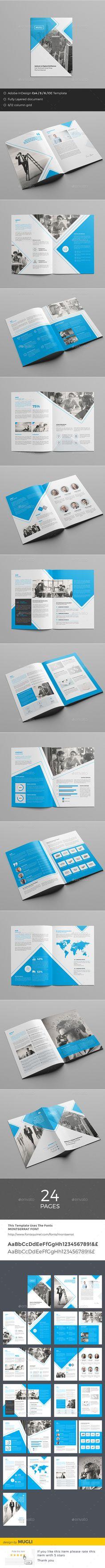 Business Brochure Template InDesign INDD. Download here: http://graphicriver.net/item/business-brochure/15902399?ref=ksioks