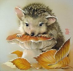 dreamiesde The post dreamiesde appeared first on Best Pins for Yours - Drawing Ideas Hedgehog Art, Cute Hedgehog, Hedgehog Illustration, Cute Illustration, Watercolor Animals, Watercolor Art, Art Scratchboard, Cute Drawings, Animal Drawings